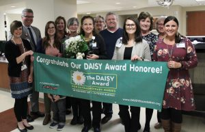 Claudia with DAISY committee.