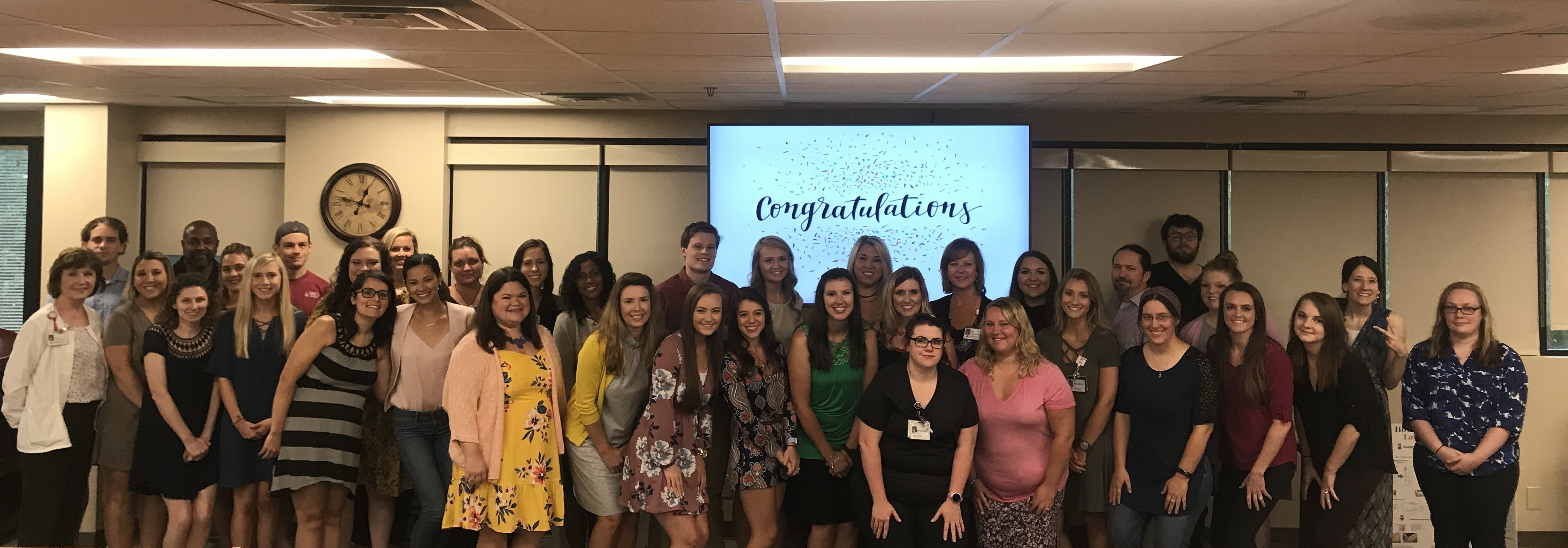 Graduation Day for Nurse Residents