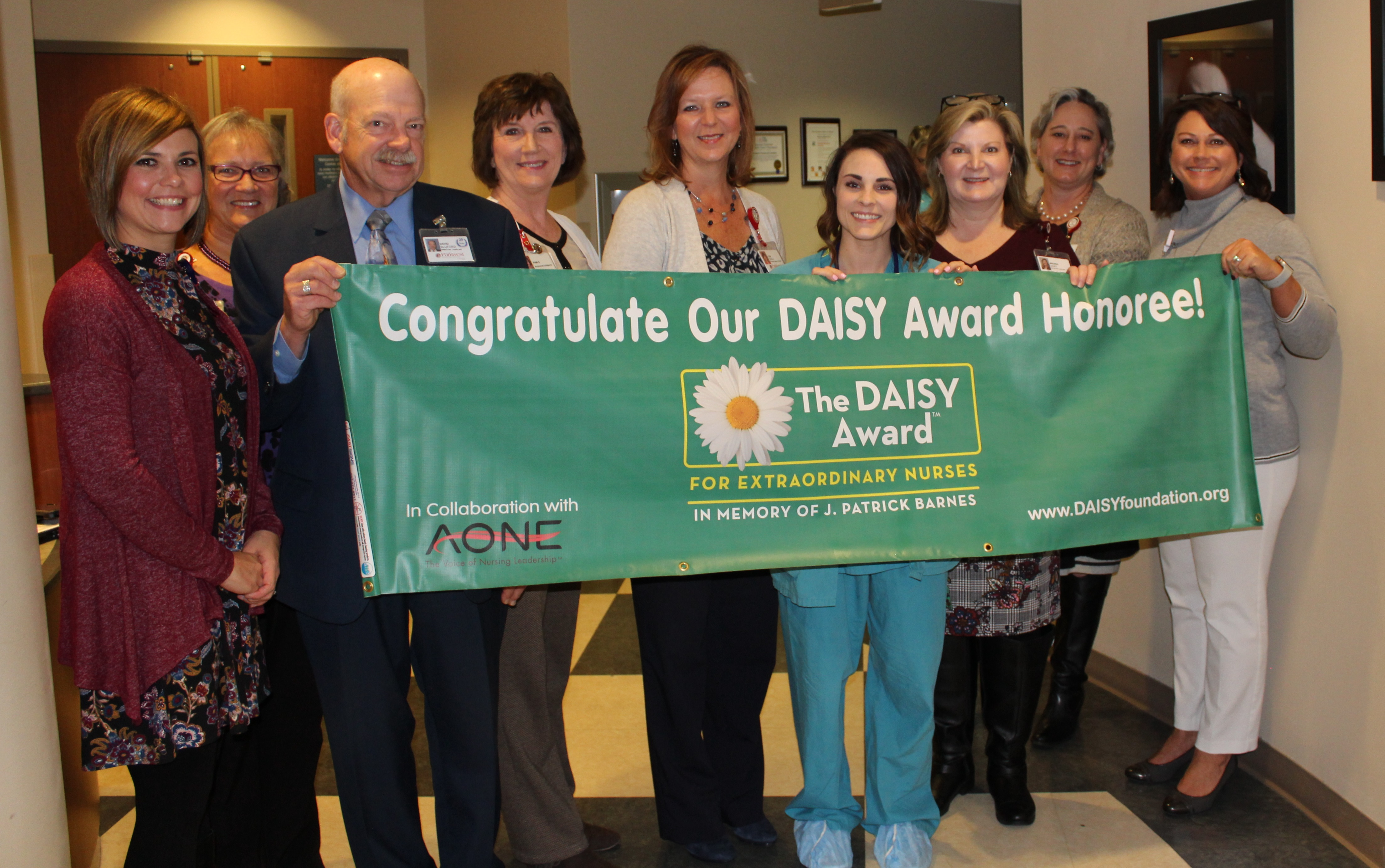 Danielle Bishop, RN, Honored with DAISY Award