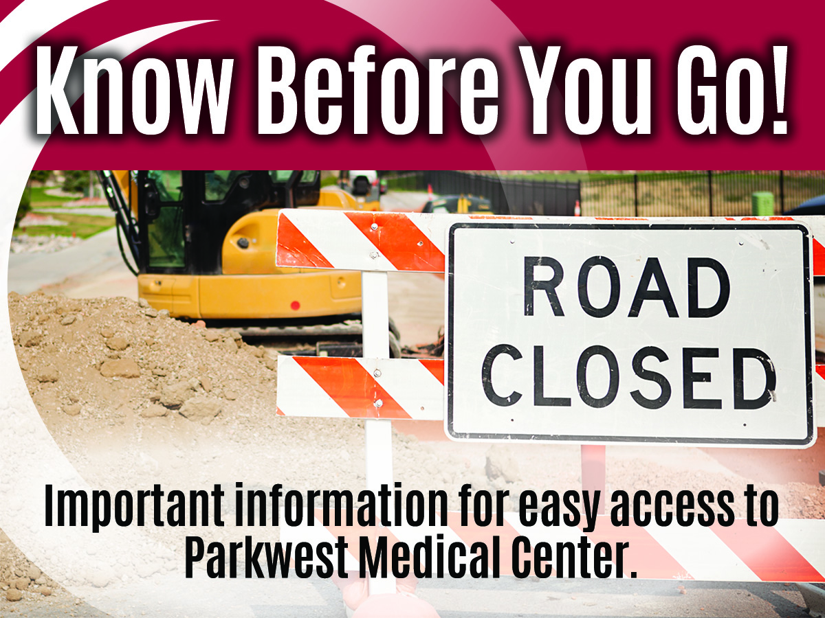 Park West Blvd  closing Feb  11 for Construction