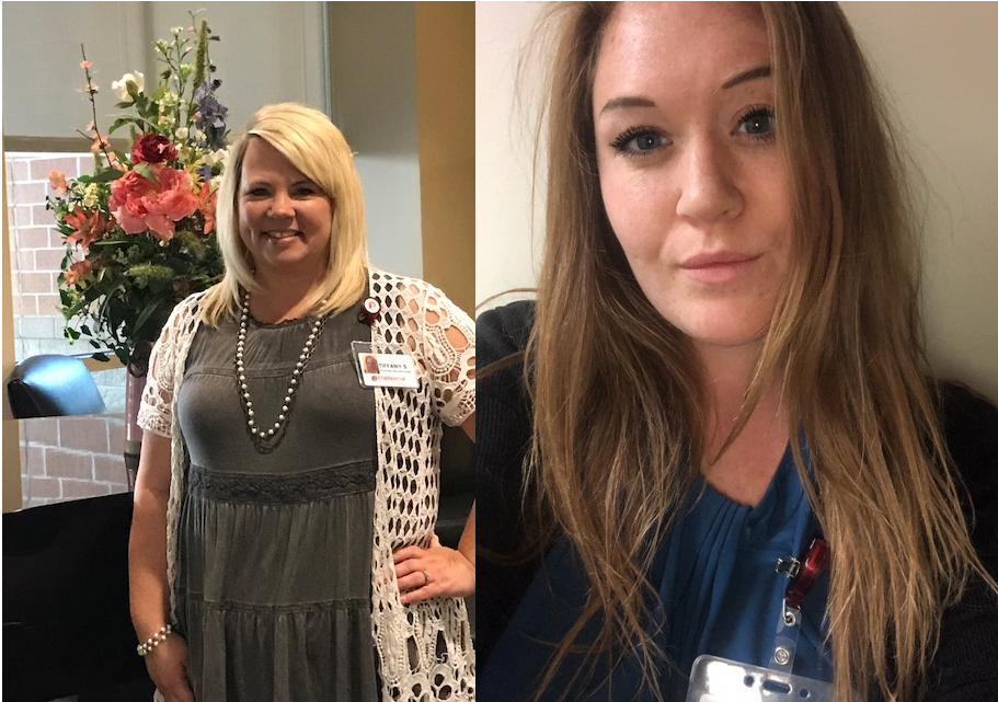 Celebrating our Patient Registration Department – Miranda & Tiffany