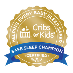 Cribs for Kids Seal_Gold