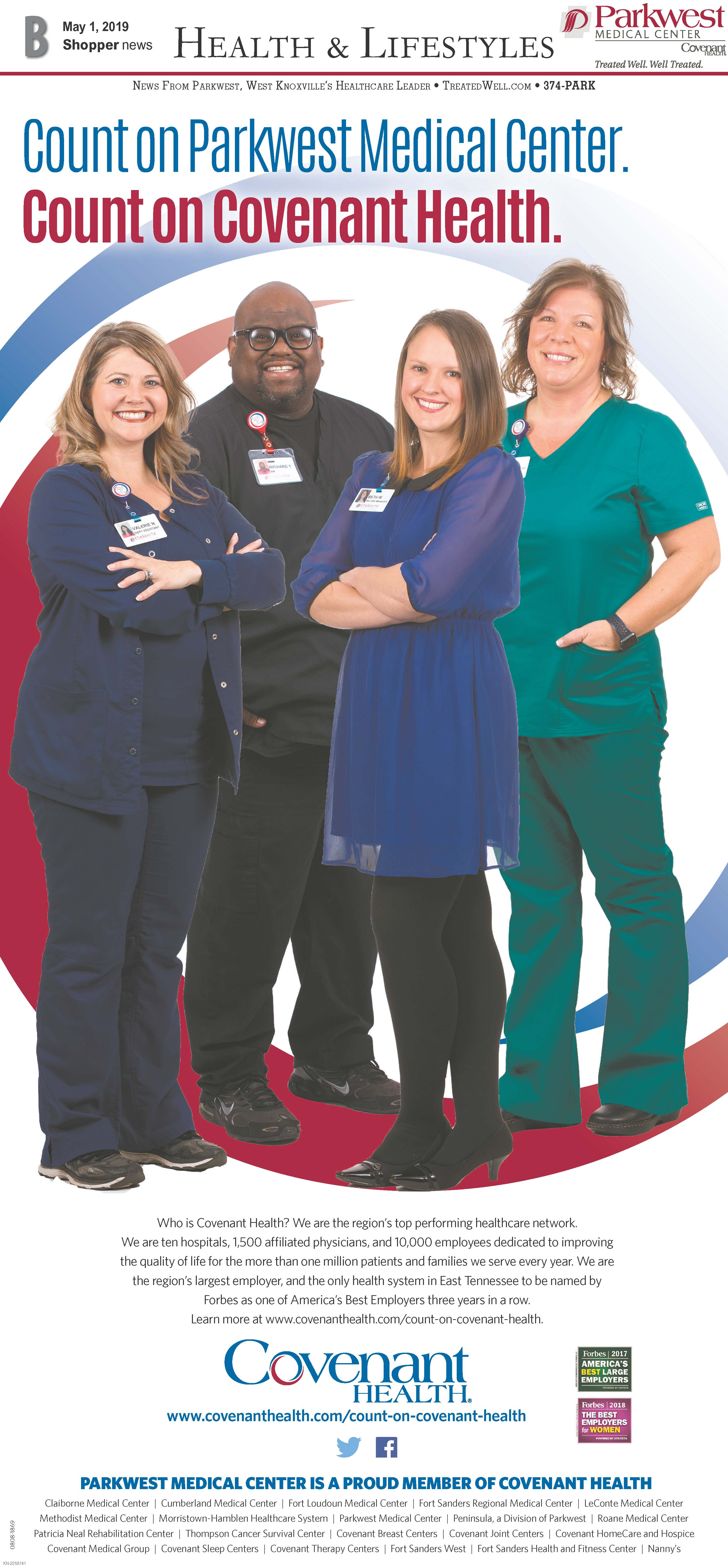 Health and Lifestyles page featuring 4 employees.