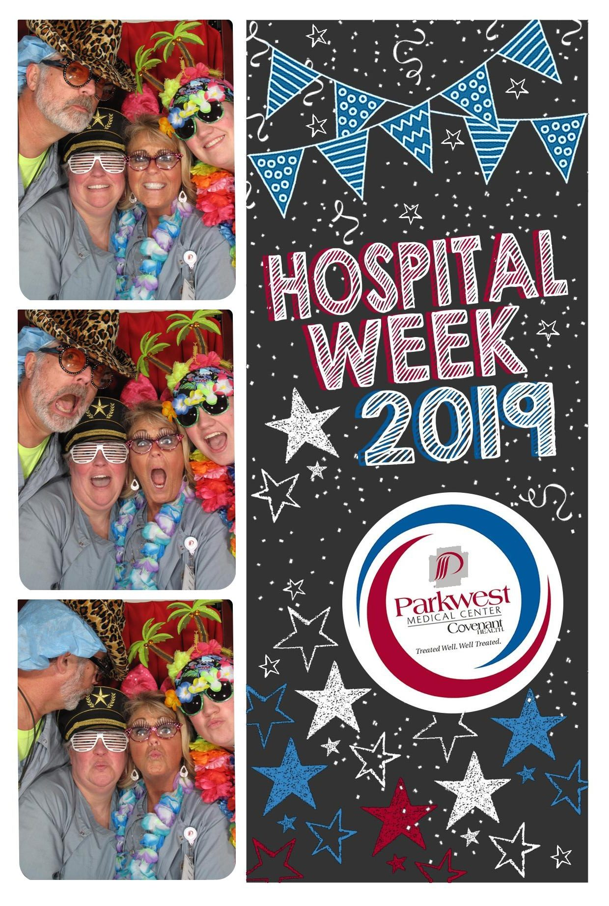 Photo Booth with Boulevard Surgery Center team.