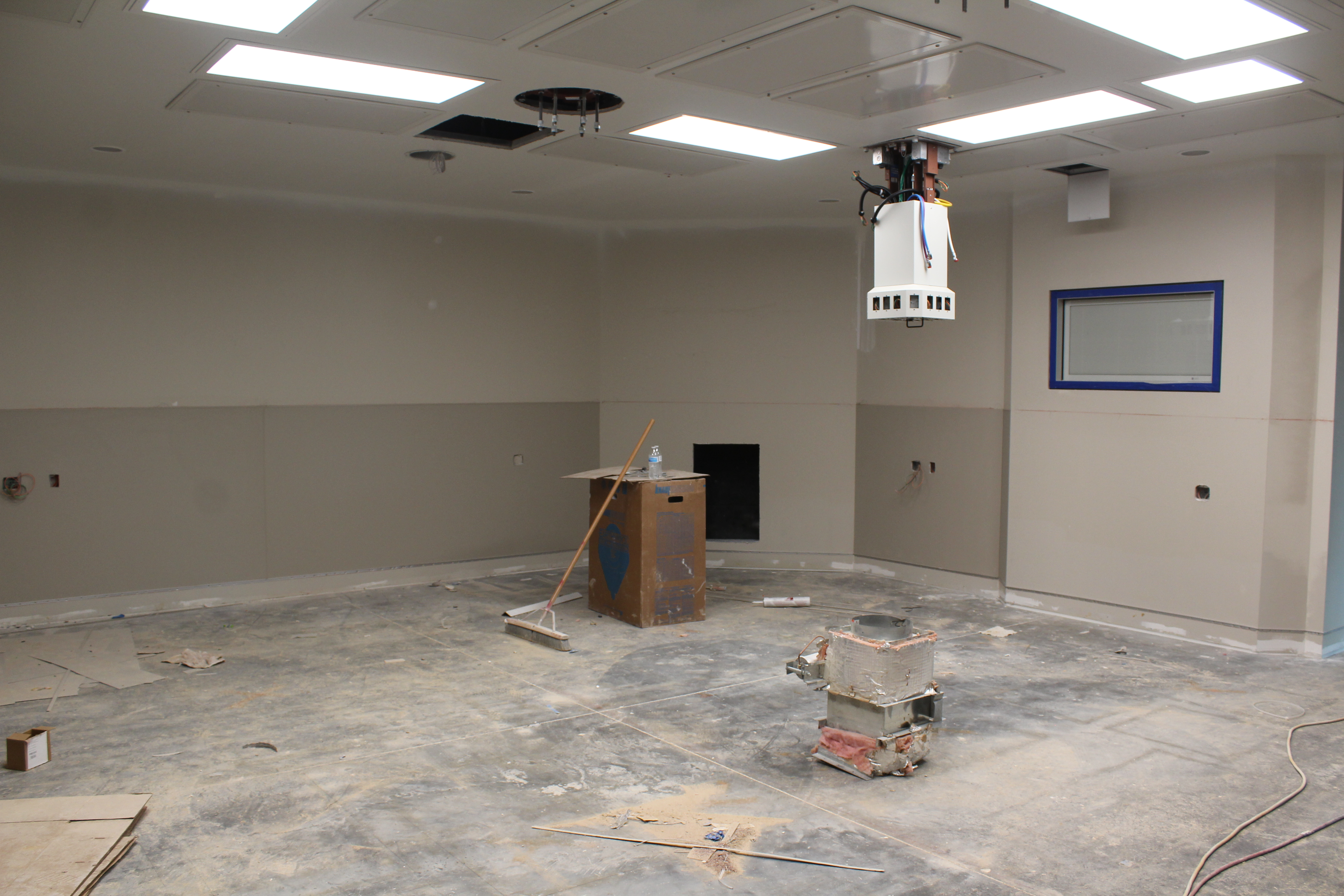 construction zone - operating room