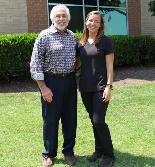 Patient reunited with nurse who saved his life.