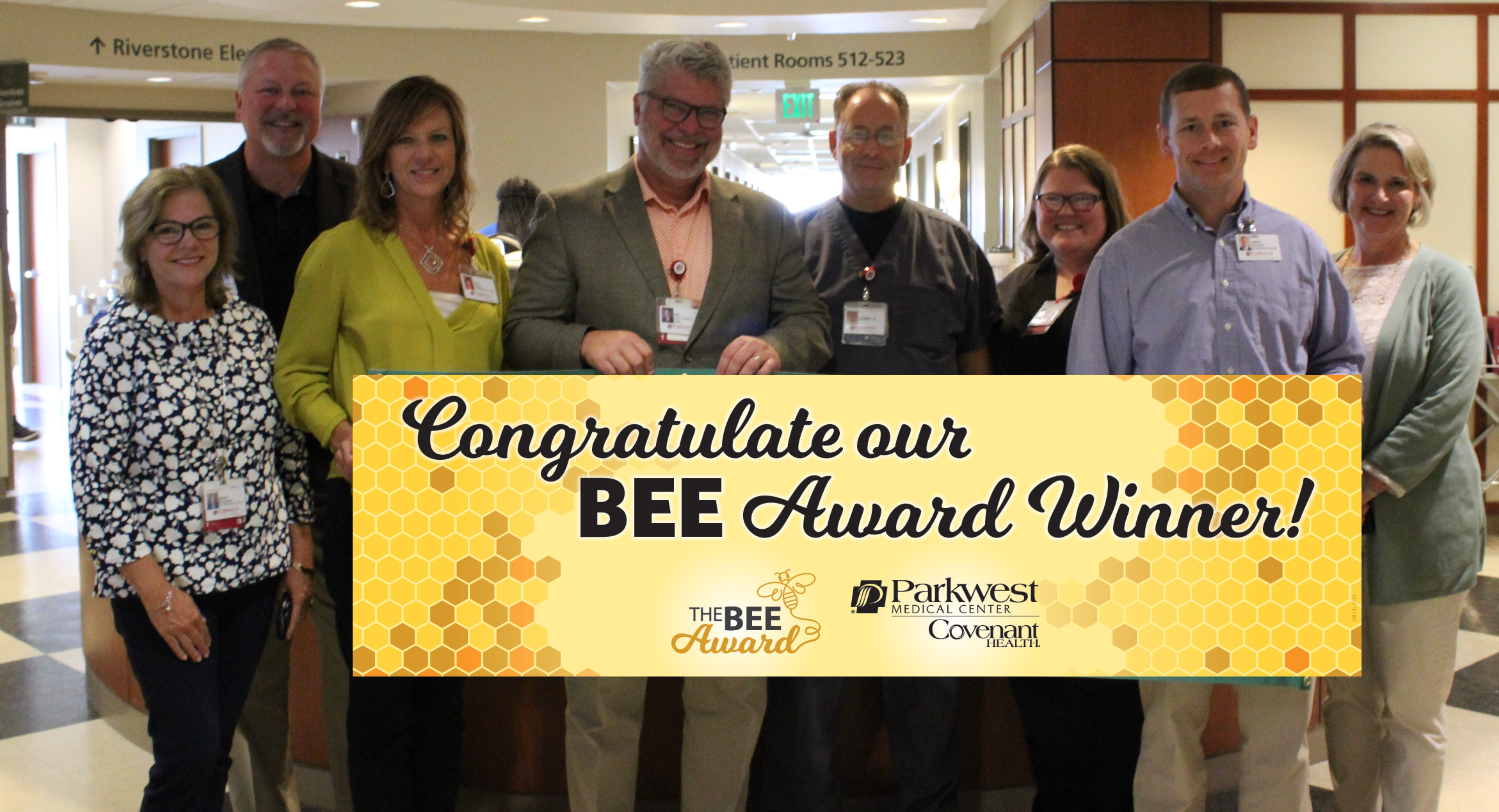Jerry with BEE Committee.