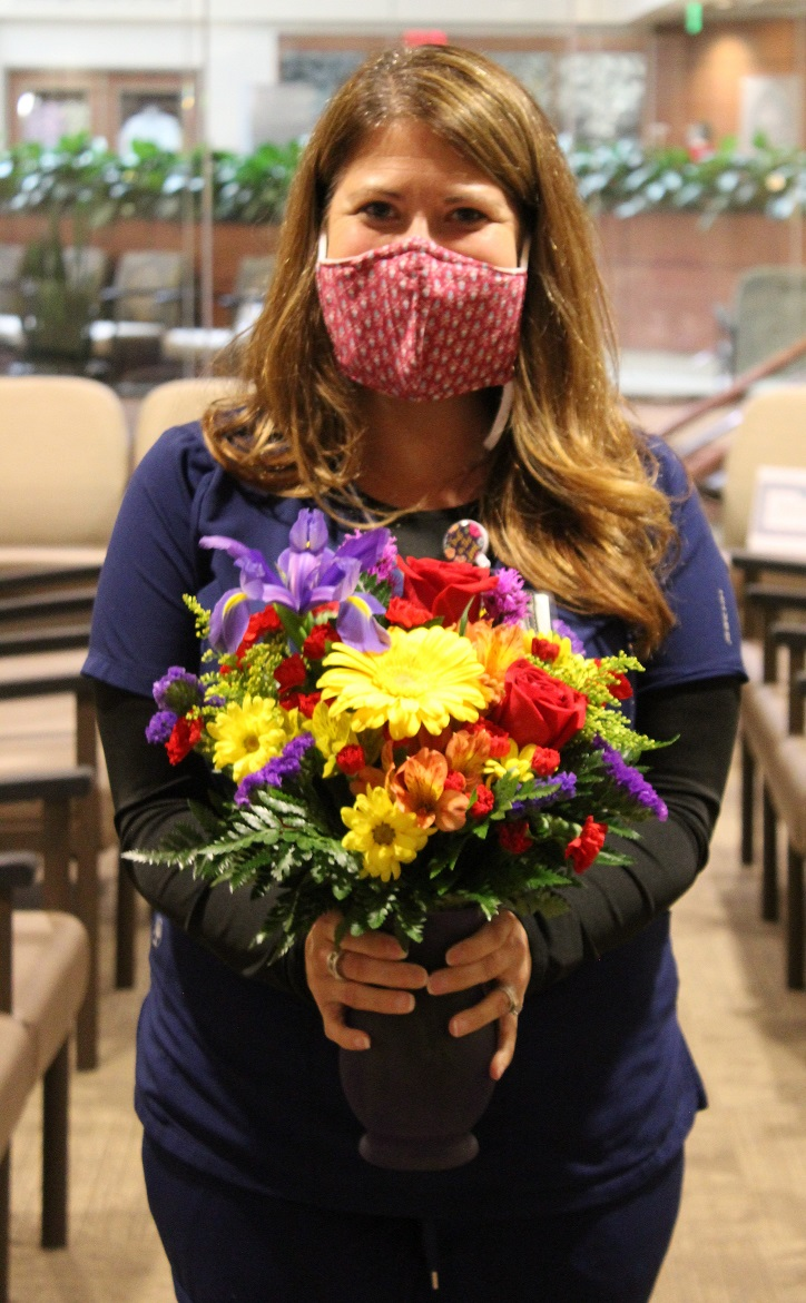 Valerie Nagle, Department Assistant, Honored with BEE Award