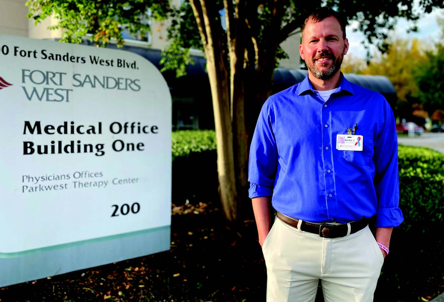 An Unusual Gift: Physical Therapist who survived lung cancer is inspired by helping others