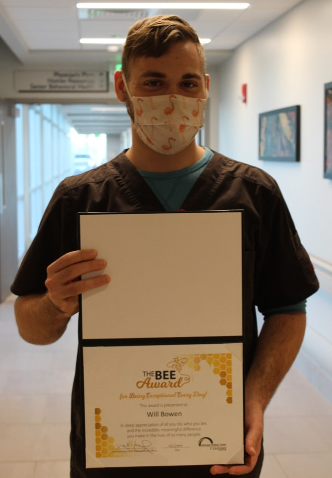 Will Bowen presented with BEE Award